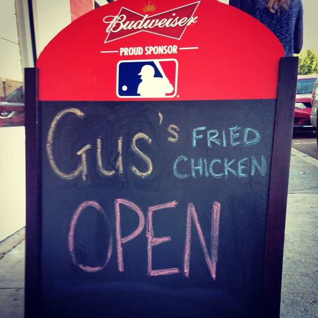 My prayers have been answered. Gus's in Oxford!