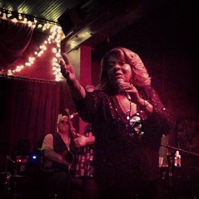 Sandra Hall. Blind Willie's, ATL.