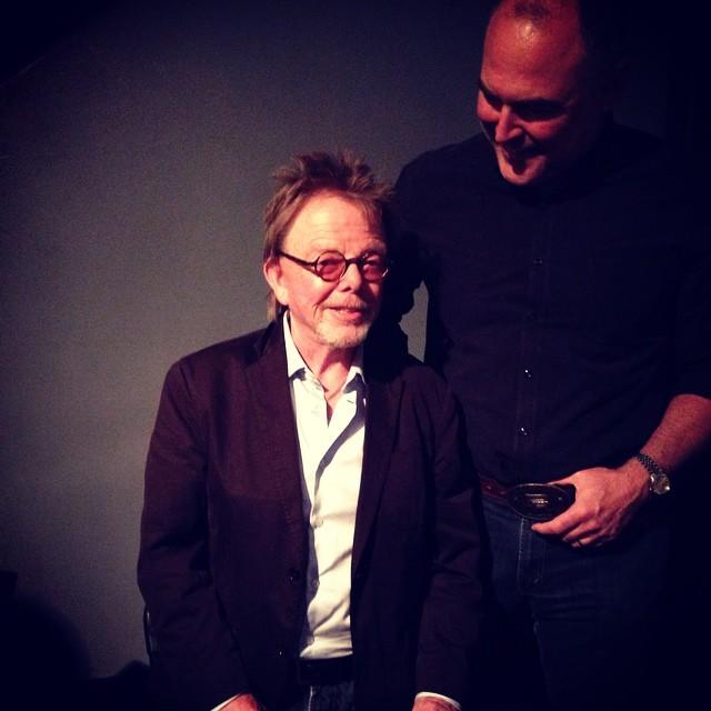Meeting Paul Williams.
