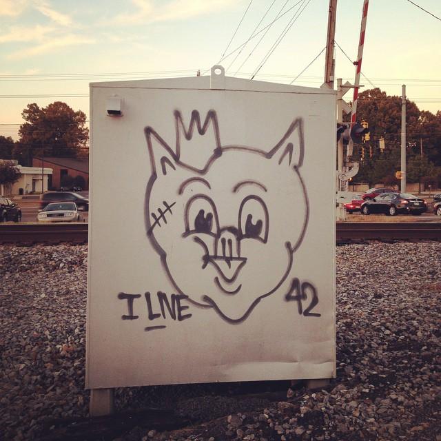 Piggly Wiggly art. #memphis